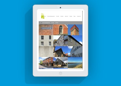 East Anglian Group Website - Tablet