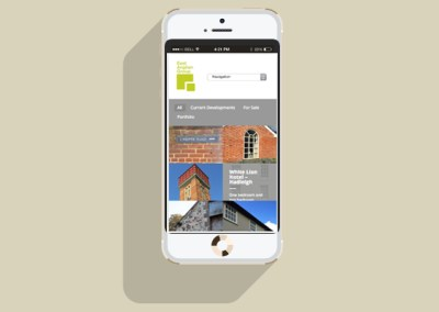 East Anglian Group Website - Mobile
