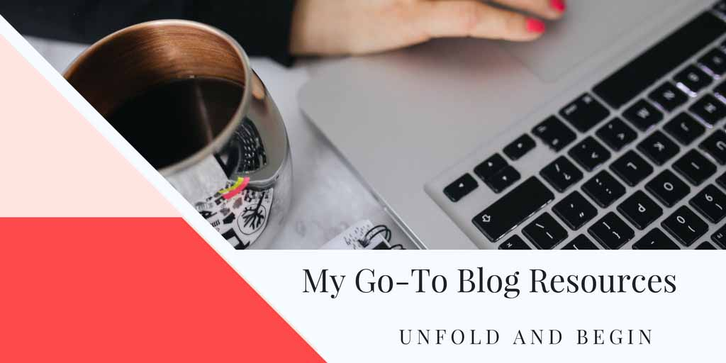 My Go-To Blog Resources