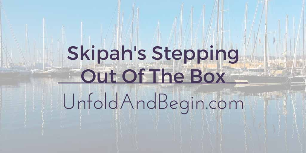 Skipah's Stepping Out Of The Box Guest post from Skipah's Realm