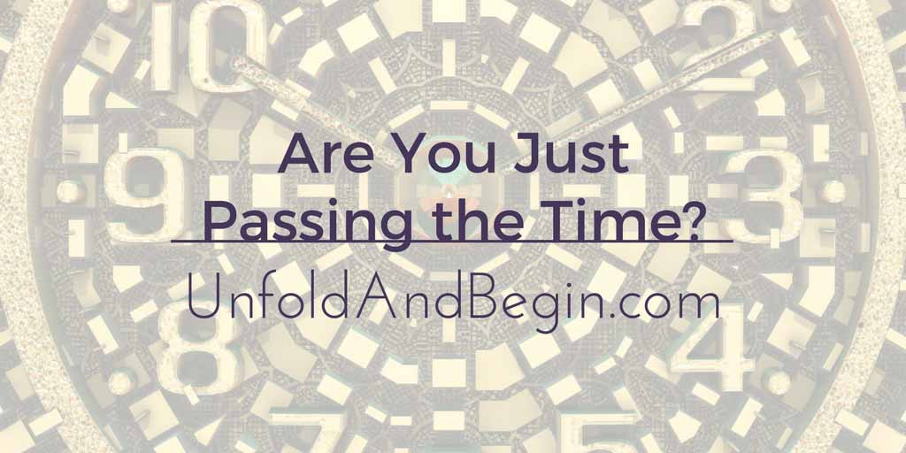 Are You Just Passing the Time? Wednesday Whoa