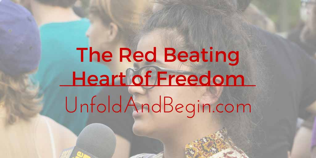 The Red Beating Heart of Freedom Wednesday Whoa