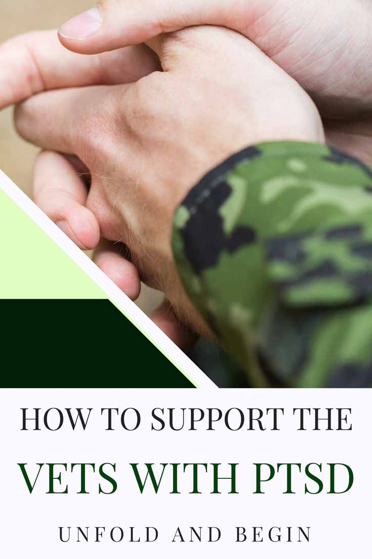 We all say we support our soldiers and Veterans, but do we know how to support the Vets with PTSD? Find out more on UnfoldAndBegin.com