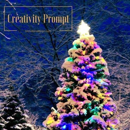 The delight in lighting up Christmas on UnfoldAndBegin.com