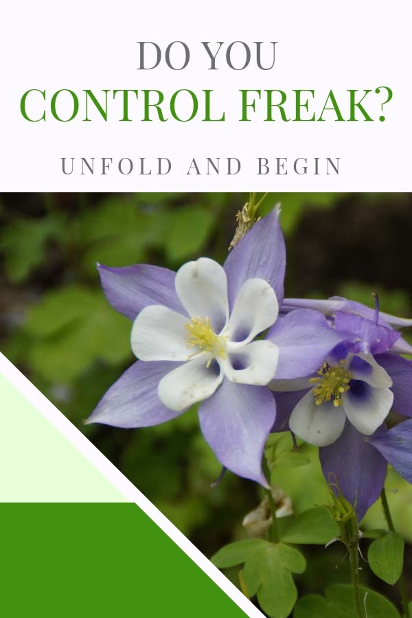 Do you control freak much on UnfoldAndBegin.com