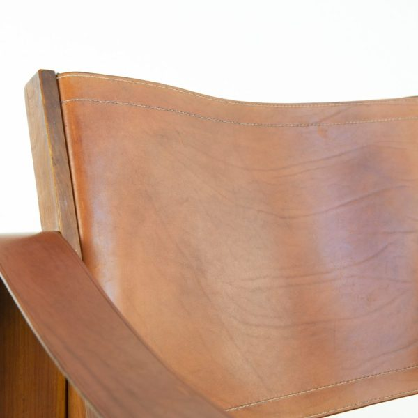 Leather Armchair by Pierre Chapo - img03