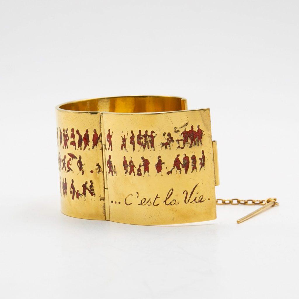C'est la vie bracelet by Line Vautrin - img01