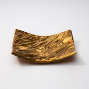 """La Mer"" by Line Vautrin (France), gilded bronze pocket emptier"