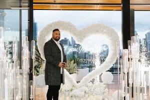 White Luxury Heart