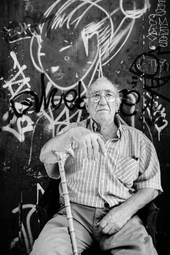 Retrato fotográfico de Santiago Álvarez