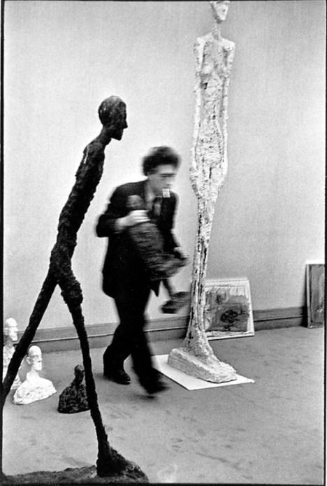 Henri Cartier-Bresson Alberto Giacometti 1961 (1)