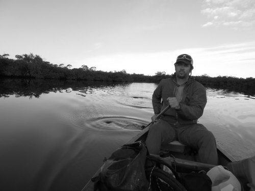 paddling the everglades