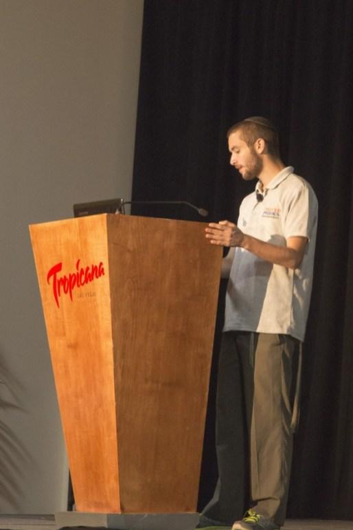 Speaker Akiva Ben-Ezra