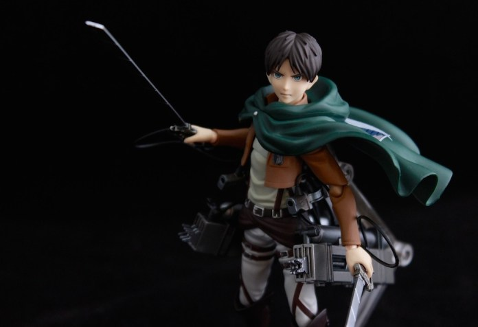 Eren Yaeger. He actually looks kinda cool if he's not raging or whining.