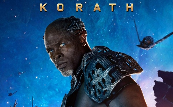 Djimon Hounsou plays Korath