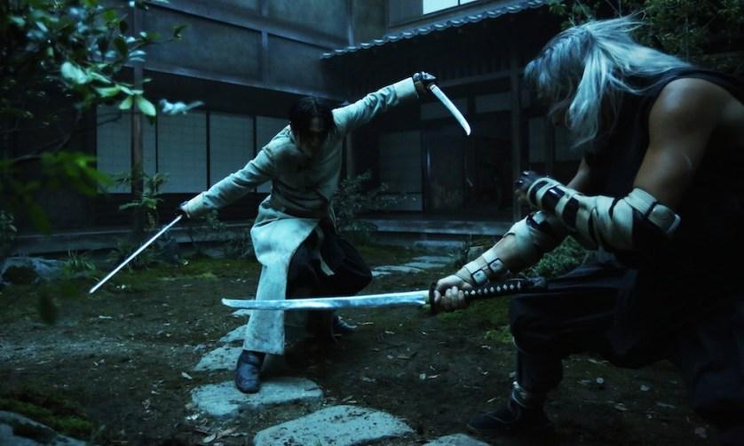 Okina Vs Aoshi - Rurouni Kenshin Kyoto Inferno