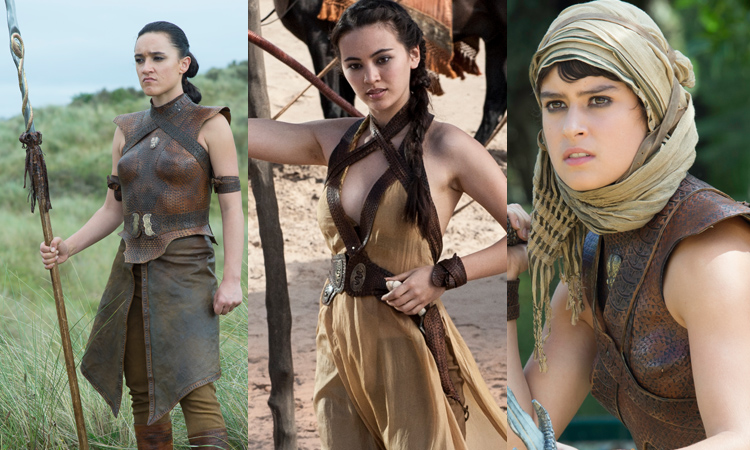 Obara, Lady Nym and Tyene Sands in GoT Season 5