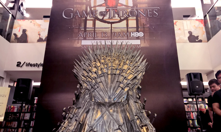 Who sits on the Iron Throne?