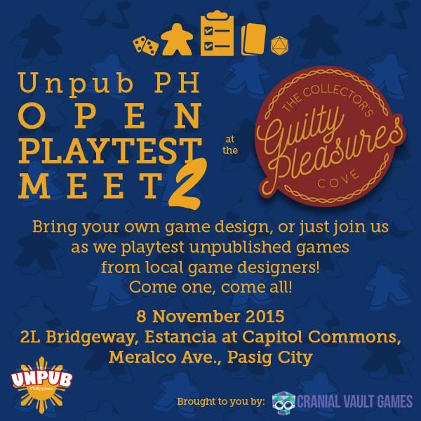 UnPub 2 Event Poster