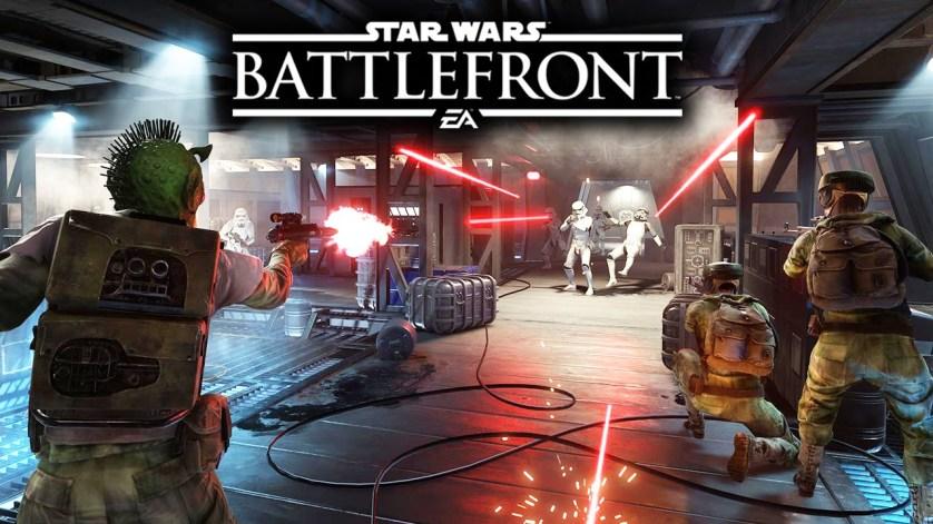 Star Wars Battlefront Blast Poster