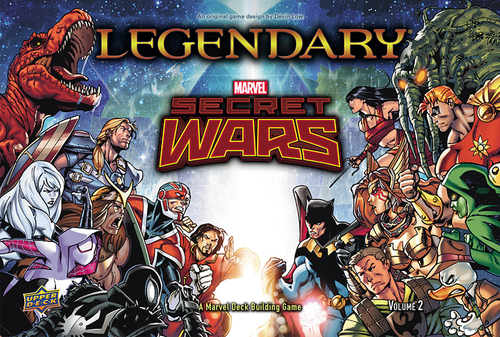 Legendary Marvel Secret Wars: Volume 2
