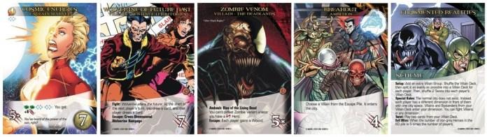 Secret Wars Sample Cards