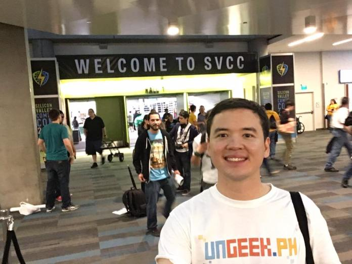UnGeek's here reporting live from SVCC!