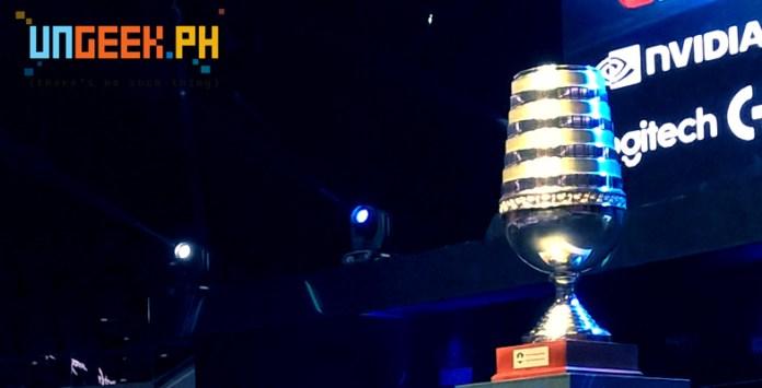 ESL One Manila Game 1 Day1 Trophy
