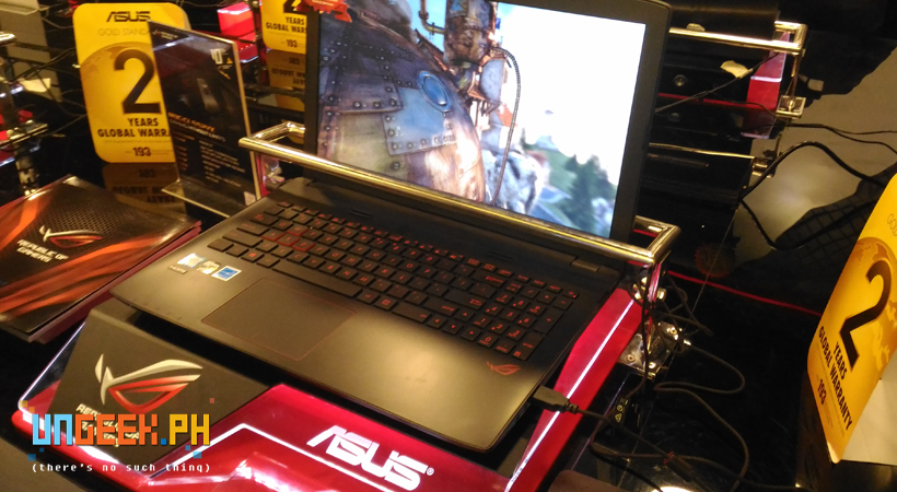 Whatever your gaming needs are the ROG concept store would definitely try to meet them!