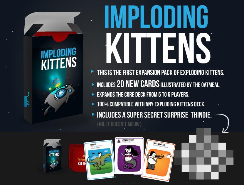 Order Imploding Kittens at Gaming Library (PH).