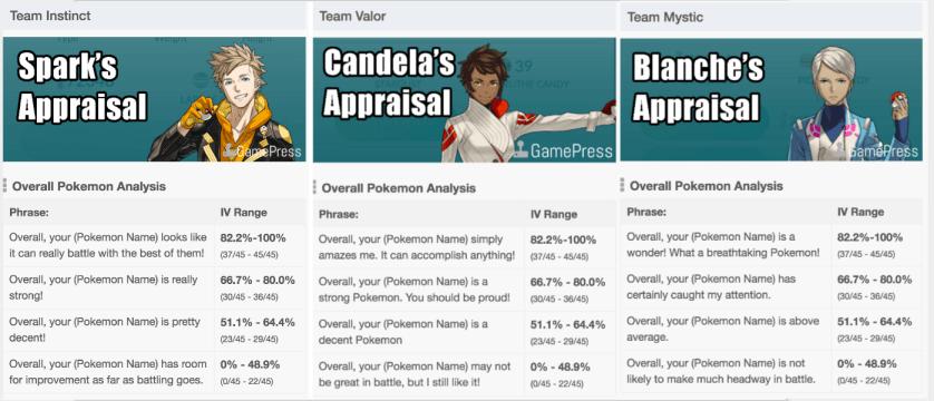 Team Leader Appraisals