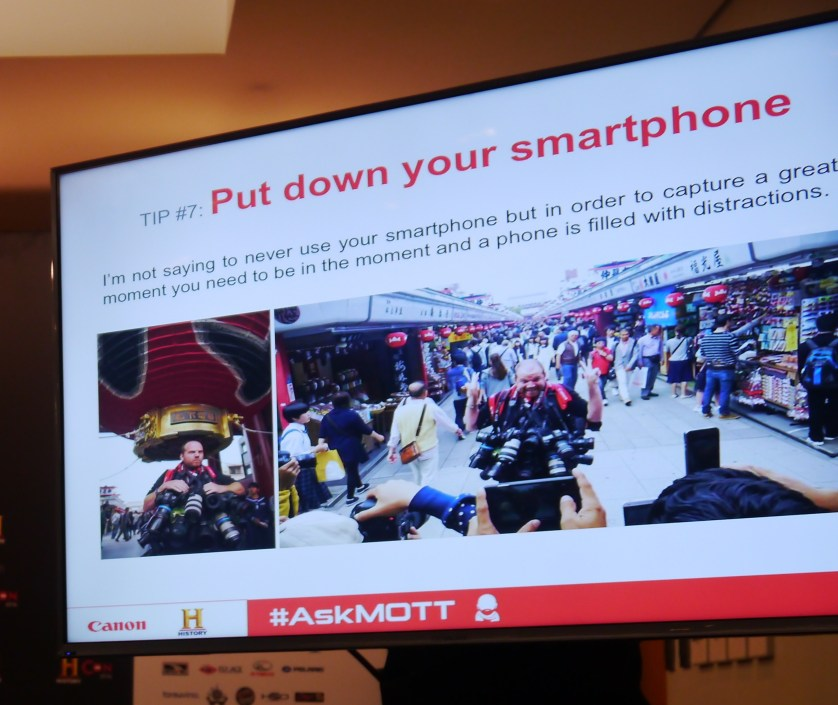 Put down your Smartphone