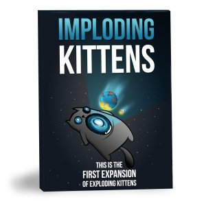 Imploding Kittens ,the 1st Expansion of Exploding Kittens
