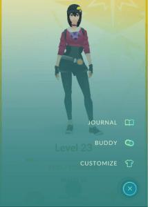 Pokémon GO - Buddy Option