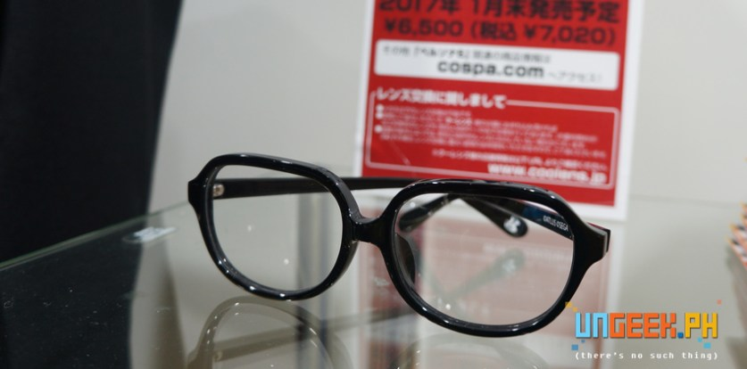 P5 glasses to complete the look. Yes, that' class=
