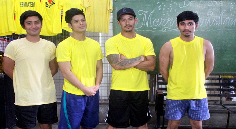 Marby (Aaron Rivera), Mikey (JC De Vera), Pitik (Jordan Herrera) and Ramon Bong (Acey Aguilar)