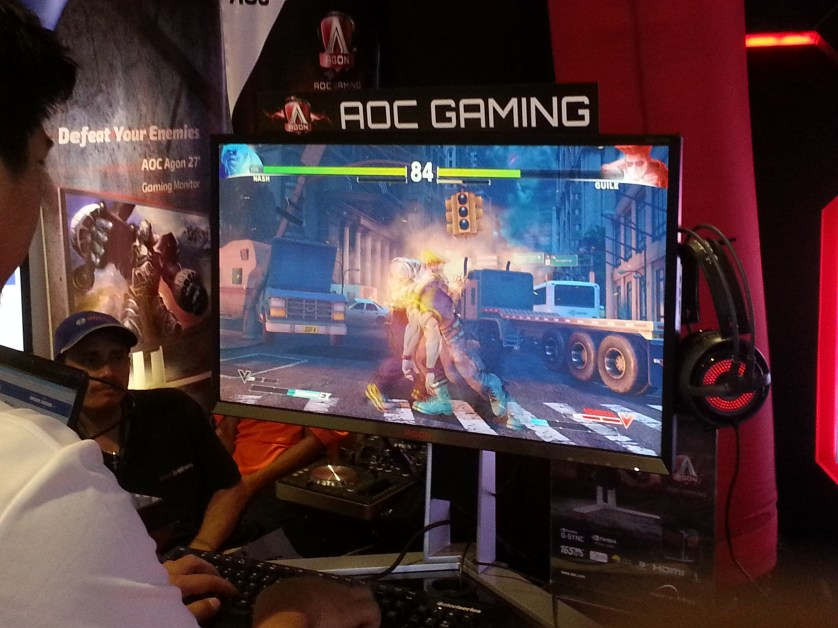 Whether racing or fighting games, AGON monitors always performs!