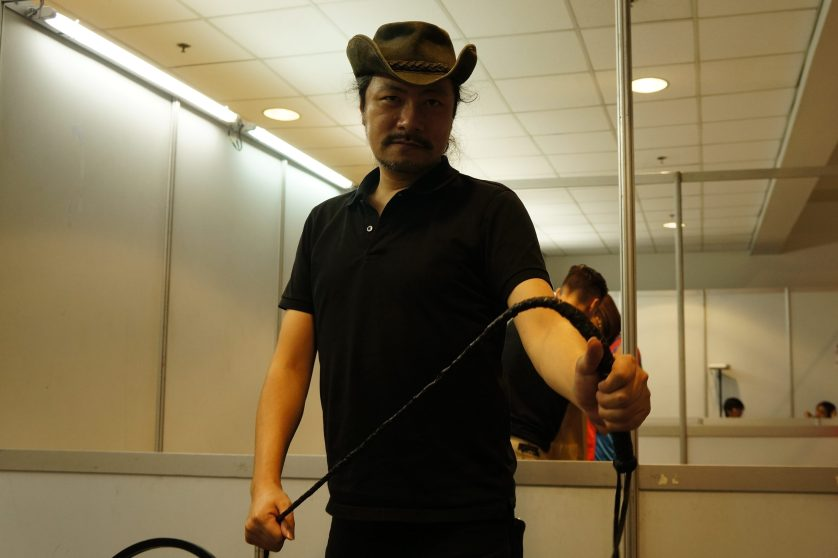 Koji Igarashi in the flesh!