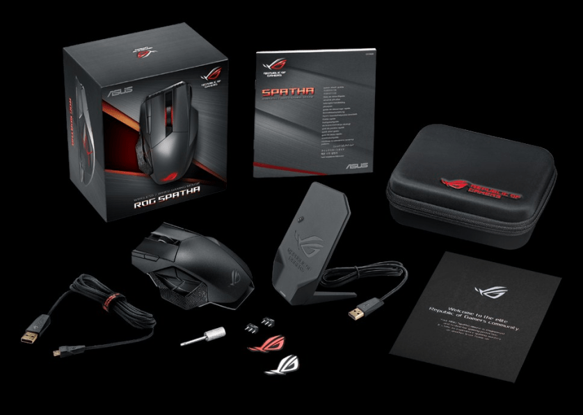 """Behold the ROG """"Spatha"""", the gaming mouse that will give you an unfair advantage for your favorite MMO' class="""