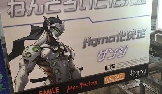 Figma Genji, Nendoroid Mei and Mercy Confirmed at Wonder Festival 2017!