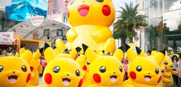 Happy Pokémon Day! Join the Celebration with 'Pokémon GO' Pikachu Hunt !