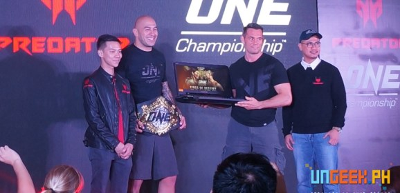 Worlds Collide as MMA and Gaming meet head-on with Predator and ONE Championship's New Partnership!