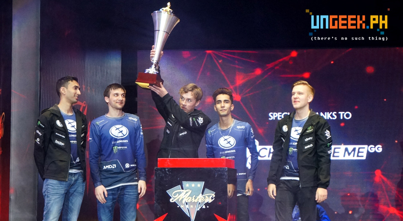 Evil Geniuses are your Manila Masters Grand Champions!!! | Manila Masters Day 3 Recap