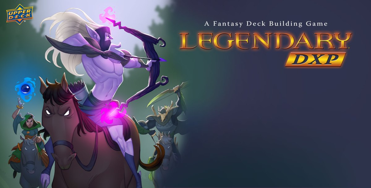 Upper Deck's Legendary Deck-Building Game is Going Digital!