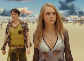 "Cara Delevigne sizzles in this high speed sci-fi action flick ""Valerian""!"