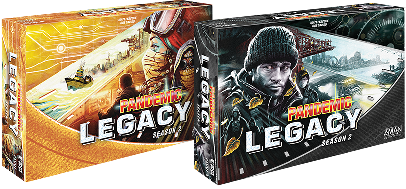 Pandemic Legacy: Season 2 Announced! | Z-Man reveals initial details of the game!
