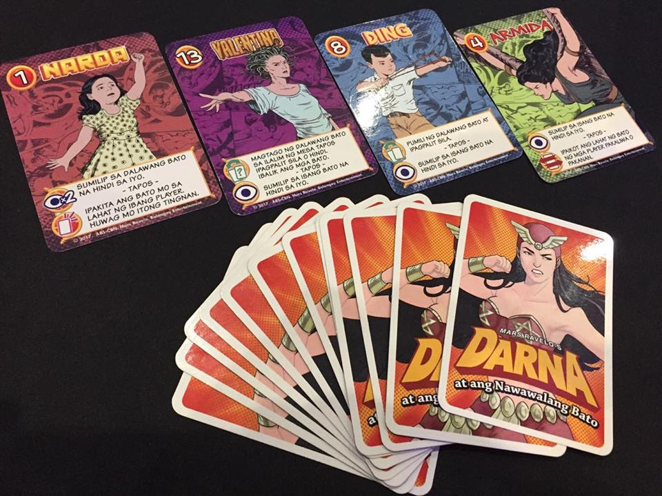 "Be a Hero in this ""DARNA"" Card Game, or Just Swallow Something Random! 