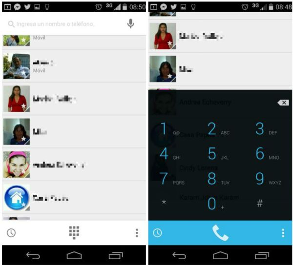 Dialer Android 4.4.2