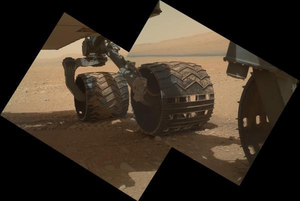 ruedas del Curiosity
