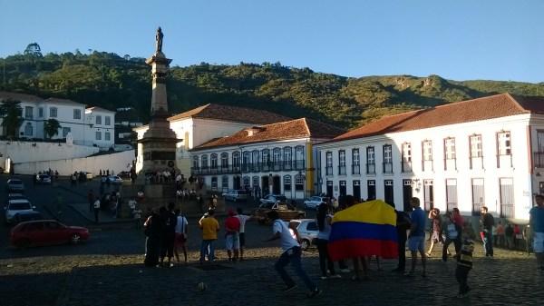 Colombiana en brasil